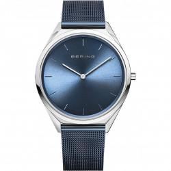 Reloj Ultra Slim Unisex Azul
